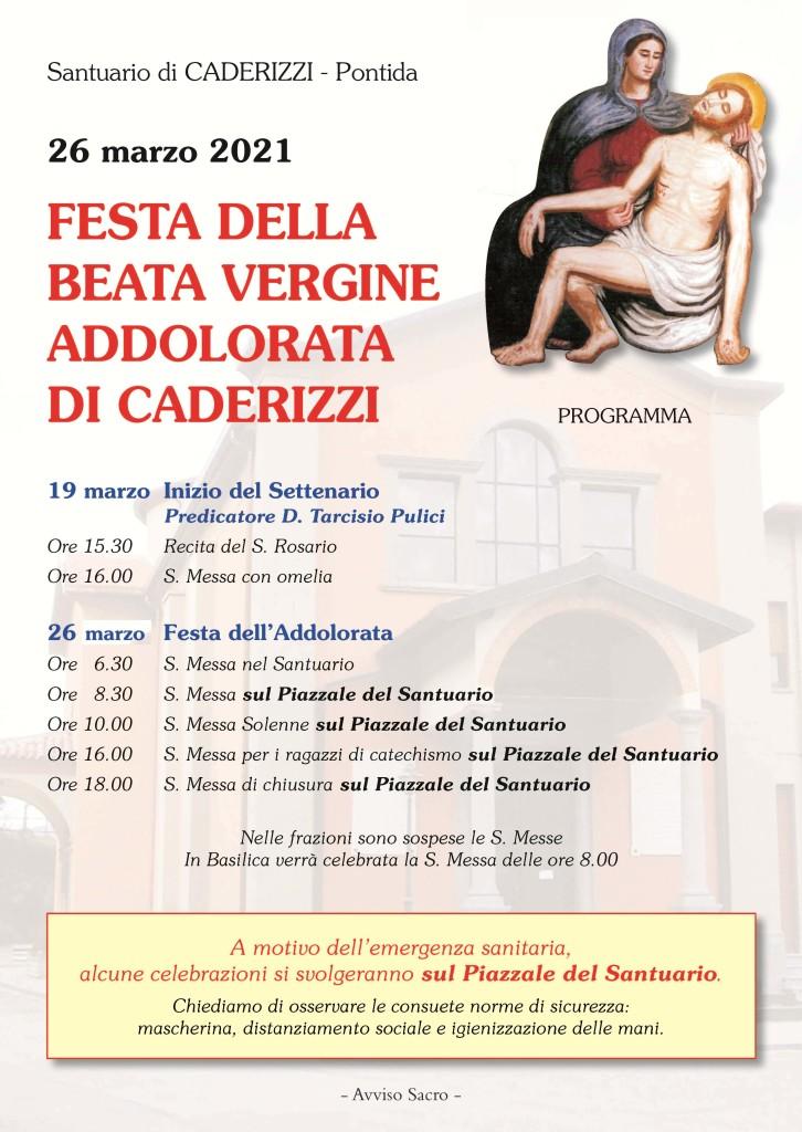 Manifesto Caderizzi A3