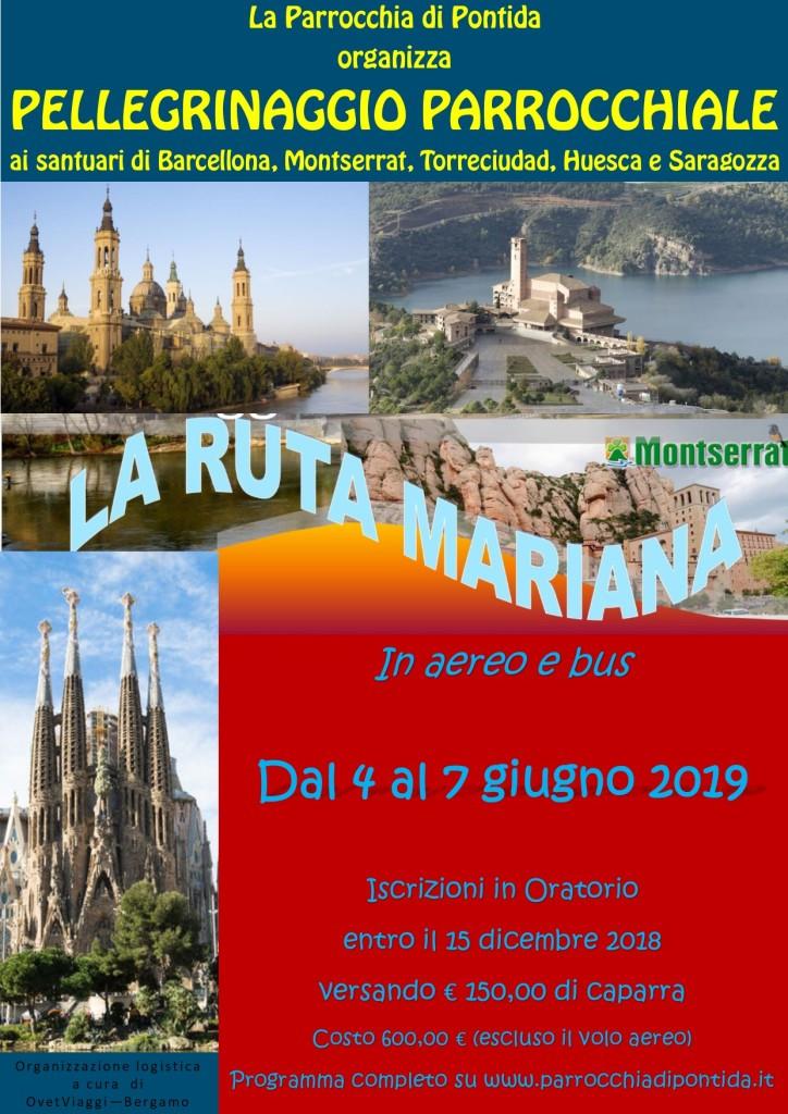 Pellegrinaggio Spagna 2019