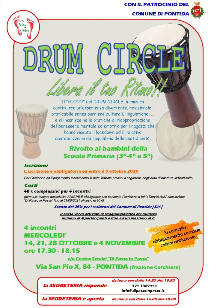 Drumcircle ott-nov 2020