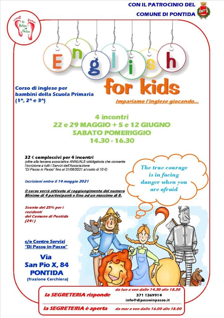 English for kids maggio-giugno 2021