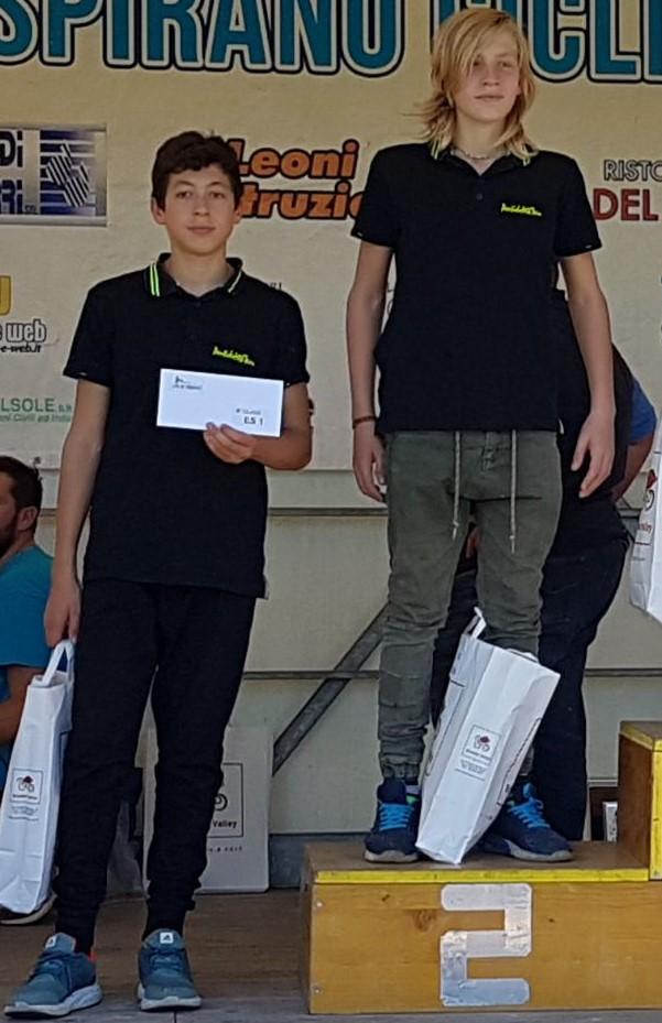podio es I anno Bg Cup Lombardia
