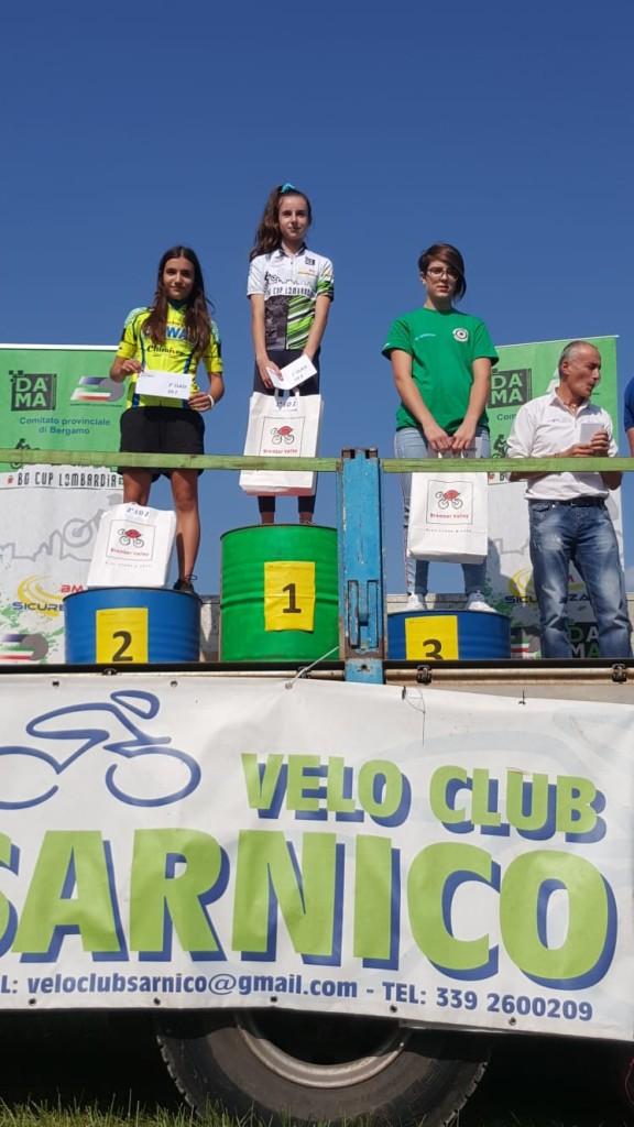 premiazione Orobie Cup Junior 1
